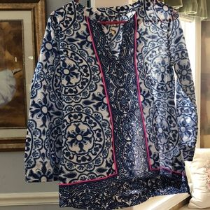 Lily Pulitzer shirt size S